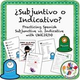 """¿Subjuntivo o Indicativo?"" UWEIRDO Spanish Bundle"
