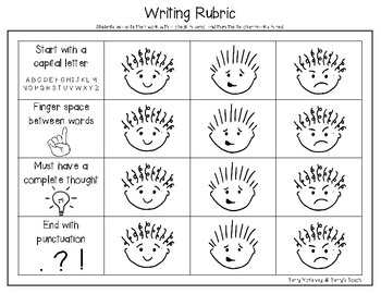 """""""Substitute Groundhog"""" Sentence Paper and Rubric"""