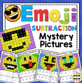 Subtraction Emoji Mystery Pictures