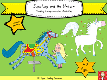 """Sugarlump and the Unicorn"" by Julia Donaldson - Reading comprehension resources"