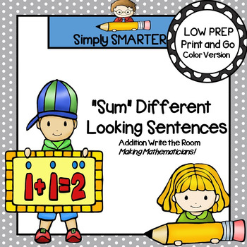"""Sum"" Different Looking Sentences:  LOW PREP Addition Writ"