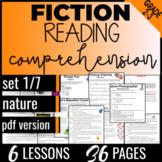 Reading Comprehension Passages: Nature {Fiction Set 1/7} Independent Work (PDF)