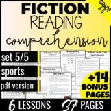 Reading Comprehension Passages & Questions: Sports {Fiction Set 5/5} (PDF)