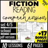 Reading Comprehension Passages: School {Fiction Set 4/5} 4th & 5th Grade (PDF)