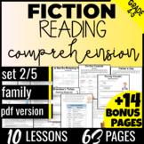 Reading Comprehension Passages: Family {Fiction Set2/5} Vocabulary Practice  PDF