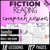6th Grade Reading Comprehension Passages and Questions {Fiction Bundle} DOCS