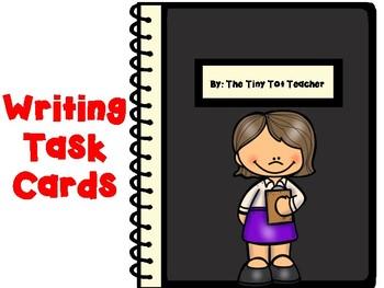 #SummerFreebie Writing Task Cards