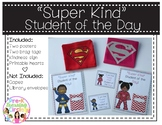 """""""Super Kind"""" Student of the Day(Social-Emotional Development)"""