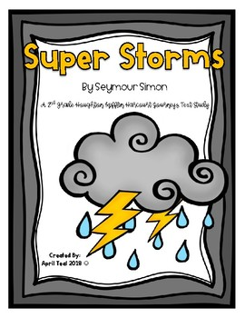 """Super Storms"" A HMH Journeys Story Pack"