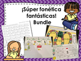 Kindergarten & 1st Grade: ¡Súper fonética fantástica! Bundle