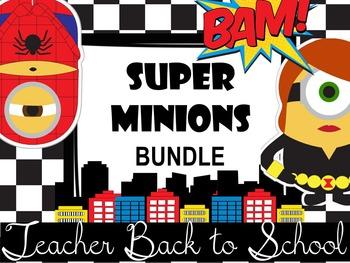 ~SuperMinions~ Back to School Teacher Bundle