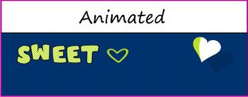 "Google Classroom Animated Theme ""Sweet"""