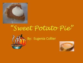 """Sweet Potato Pie"" Story Intro Notes & Vocab."