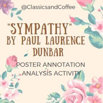 """Sympathy"" by Paul Laurence Dunbar Poster Annotation"