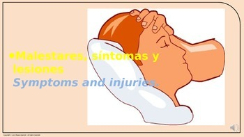 """""""Symptoms and Injuries"""". Power Point Presentation with audio."""