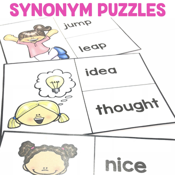 """Synonym Puzzles"" Center"