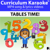 'TABLES TIME!' ~  1 - 12 Times Tables Song Videos l Distan