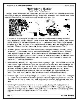 """TARGET"" ACHIEVEMENT TESTS #1 ENGLISH/LANGUAGE ARTS/READING CCSS"