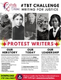 #TBT Challenge: Protest Writers