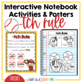 -TCH Rule Interactive Notebook Activities and Posters **FREEBIE**