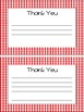 **TEACHER APPRECIATION** BBQ Gift Tag and Thank You Note