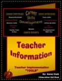 """TEACHER IMPLEMENTATION INFORMATION"" - STAGE #4 - ""Mock Interview Day Activity"""
