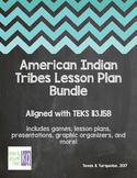 (TEKS 113.15B) American Indian Tribes Mini 4th Grade SS Unit