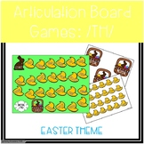 /TH/ Articulation Board Games - Easter Theme