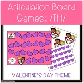 /TH/ Articulation Board Games - Valentine's Day Theme