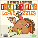 ✮ THANKSGIVING LOGIC PUZZLES ✮