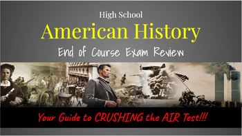**THE BEST** American History State Test Prep Bundle-Slides with Pear Deck