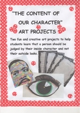"Martin Luther King "" THE CONTENT OF OUR CHARACTER"" ART PROJECTS"