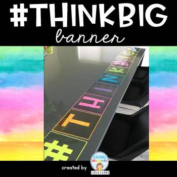 #THINKBIG banner