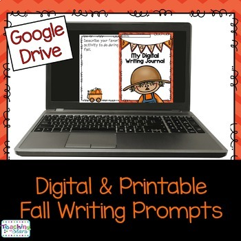 Fall Digital and Printable Writing Prompts using your Goog
