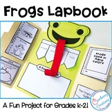 Frogs Lapbook for Studying Frogs Life Cycle