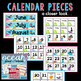 Ocean Beach Themed Calendar Pieces and Vocabulary Cards