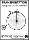 'TRANSPORTATION' ~ MP3: READ, SING & LEARN About Transportation