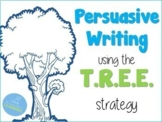 *TREE Persuasive Writing Strategy* PowerPoint, Article, Writing Prompt