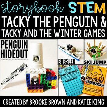 {Tacky the Penguin} Storybook STEM