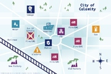 >Take Command Poster - City Map