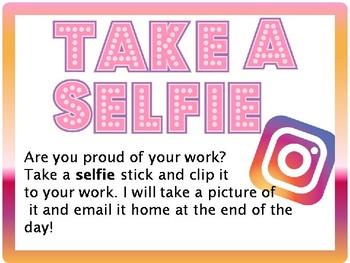 """""""Take a selfie"""""""