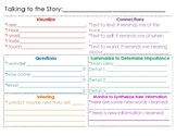"""Talking to the Story"" Handout"