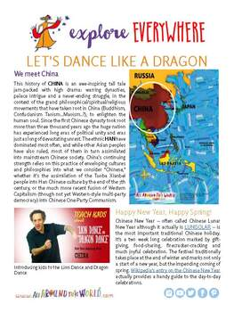 """Teach Kids About China – Let's Dance the Lion Dance and Dragon Dance"""
