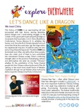 """""""Teach Kids About China – Let's Dance the Lion Dance and D"""