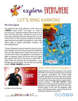 """Teach Kids About Japan -- Let's Sing Karaoke"""