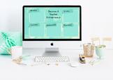 """""""Teacher Entrepreneur"""" Desktop Organizer (customizable)"""