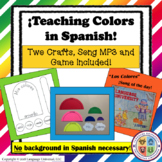 Spanish Colors Lesson for Kids!