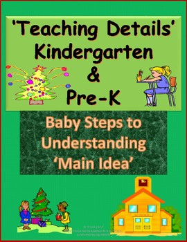 Alphabet Specialty: Teaching Details     Baby Steps to learning Main Idea  Free