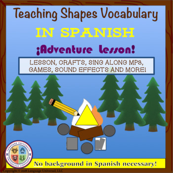 Shapes Vocabulary in Spanish!