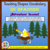 Spanish Shapes Lesson for Kids!